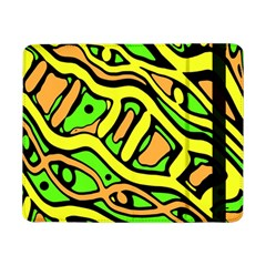 Yellow, Green And Oragne Abstract Art Samsung Galaxy Tab Pro 8 4  Flip Case by Valentinaart