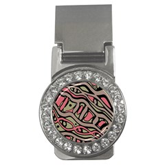 Decorative Abstract Art Money Clips (cz)  by Valentinaart