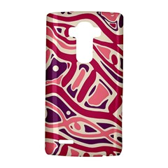 Pink and purple abstract art LG G4 Hardshell Case by Valentinaart