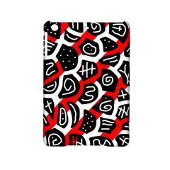 Red Playful Design Ipad Mini 2 Hardshell Cases by Valentinaart