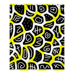 Yellow Playful Design Shower Curtain 60  X 72  (medium)  by Valentinaart