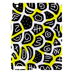 Yellow Playful Design Apple Ipad 3/4 Hardshell Case by Valentinaart