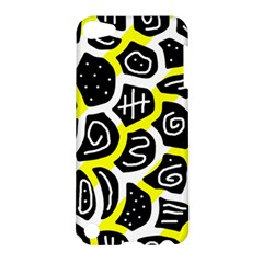 Yellow Playful Design Apple Ipod Touch 5 Hardshell Case by Valentinaart