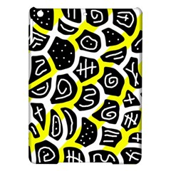 Yellow Playful Design Ipad Air Hardshell Cases by Valentinaart
