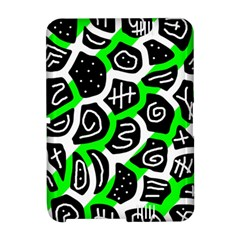 Green playful design Amazon Kindle Fire (2012) Hardshell Case by Valentinaart