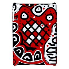 Red High Art Abstraction Apple Ipad Mini Hardshell Case by Valentinaart