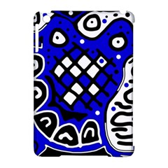 Blue High Art Abstraction Apple Ipad Mini Hardshell Case (compatible With Smart Cover) by Valentinaart