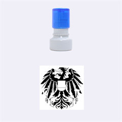 Coat Of Arms Of Austria Rubber Round Stamps (small) by abbeyz71