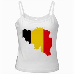 Belgium Flag Map Ladies Camisoles by abbeyz71