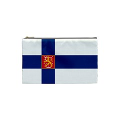 State Flag Of Finland  Cosmetic Bag (small)  by abbeyz71