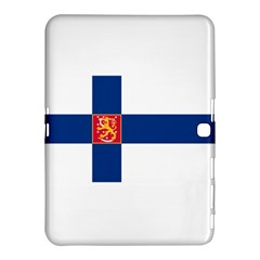 State Flag of Finland  Samsung Galaxy Tab 4 (10.1 ) Hardshell Case  by abbeyz71