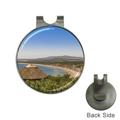 Landscape Aerial View Piriapolis Uruguay Hat Clips With Golf Markers by dflcprints