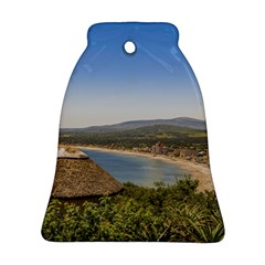 Landscape Aerial View Piriapolis Uruguay Ornament (bell)  by dflcprints