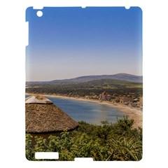 Landscape Aerial View Piriapolis Uruguay Apple Ipad 3/4 Hardshell Case by dflcprints
