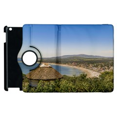 Landscape Aerial View Piriapolis Uruguay Apple Ipad 3/4 Flip 360 Case by dflcprints