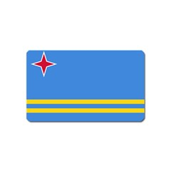 Flag Of Aruba Magnet (name Card)