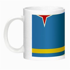 Flag Of Aruba Night Luminous Mugs
