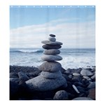 STACKING STONES SHOWER CURTAIN FORMATTED TEMPATE FOR :  Shower Curtain Template - Shower Curtain 66  x 72  (Large)