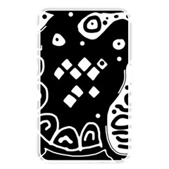 Black And White High Art Abstraction Memory Card Reader by Valentinaart