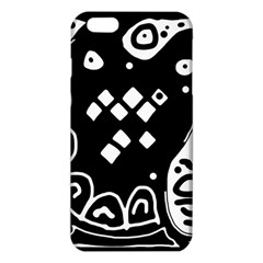Black And White High Art Abstraction Iphone 6 Plus/6s Plus Tpu Case by Valentinaart