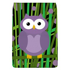 Purple Owl Flap Covers (s)  by Valentinaart
