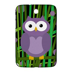 Purple Owl Samsung Galaxy Note 8 0 N5100 Hardshell Case  by Valentinaart
