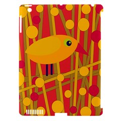 Yellow Bird Apple Ipad 3/4 Hardshell Case (compatible With Smart Cover) by Valentinaart