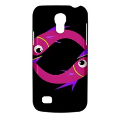 Magenta Fishes Galaxy S4 Mini by Valentinaart