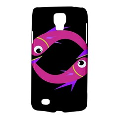 Magenta Fishes Galaxy S4 Active by Valentinaart