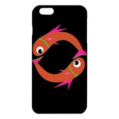 Orange Fishes Iphone 6 Plus/6s Plus Tpu Case by Valentinaart