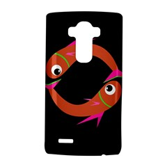 Orange Fishes Lg G4 Hardshell Case by Valentinaart