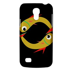 Yellow Fishes Galaxy S4 Mini by Valentinaart