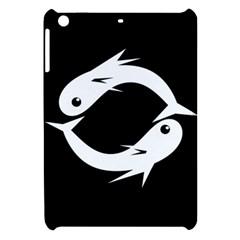 White Fishes Apple Ipad Mini Hardshell Case by Valentinaart