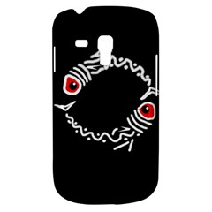 Abstract Fishes Samsung Galaxy S3 Mini I8190 Hardshell Case by Valentinaart
