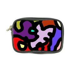 Colorful Abstraction By Moma Coin Purse by Valentinaart