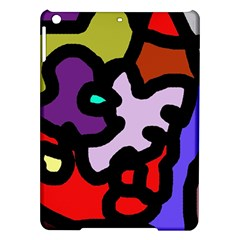 Colorful Abstraction By Moma Ipad Air Hardshell Cases by Valentinaart