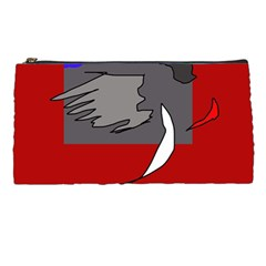 Red Abstraction By Moma Pencil Cases