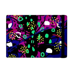 Abstract Colorful Chaos Ipad Mini 2 Flip Cases by Valentinaart