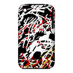 Colorful Chaos By Moma Apple Iphone 3g/3gs Hardshell Case (pc+silicone) by Valentinaart
