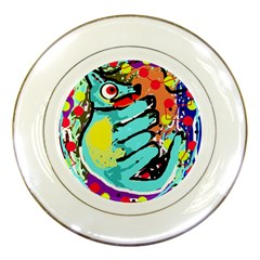 Abstract Animal Porcelain Plates by Valentinaart