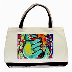 Abstract Animal Basic Tote Bag by Valentinaart