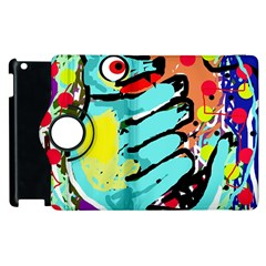 Abstract Animal Apple Ipad 2 Flip 360 Case by Valentinaart