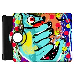 Abstract Animal Kindle Fire Hd Flip 360 Case by Valentinaart