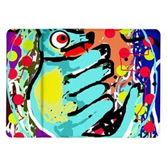 Abstract Animal Samsung Galaxy Tab 10 1  P7500 Flip Case by Valentinaart