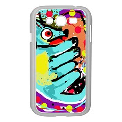 Abstract Animal Samsung Galaxy Grand Duos I9082 Case (white) by Valentinaart