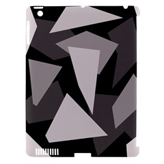 Simple Gray Abstraction Apple Ipad 3/4 Hardshell Case (compatible With Smart Cover) by Valentinaart
