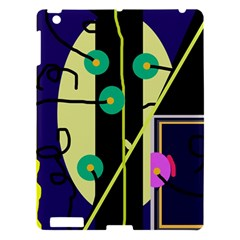 Crazy Abstraction By Moma Apple Ipad 3/4 Hardshell Case by Valentinaart