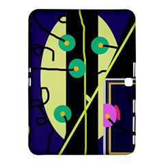 Crazy Abstraction By Moma Samsung Galaxy Tab 4 (10 1 ) Hardshell Case  by Valentinaart