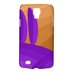 Orange And Purple Landscape Galaxy S4 Active by Valentinaart