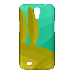 Green And Yellow Landscape Samsung Galaxy Mega 6 3  I9200 Hardshell Case by Valentinaart